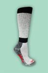 alpaca high calf boot sock