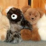 item 6 teddy bears 10 inch